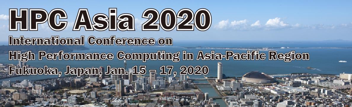 [出展情報] HPC Asia 2020