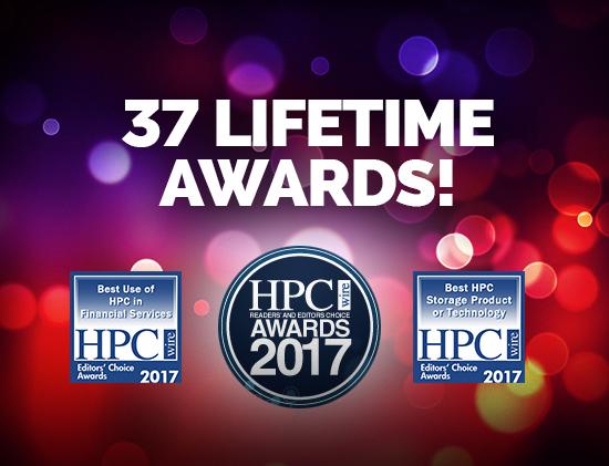 DDN、HPCストレージにおけるリーダーシップで 2017 HPCwire Readers' and Editors' Choice Awardsを受賞  DDN IME、最優秀HPCストレージ製品に選出