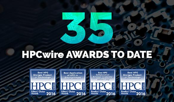 DDN、革新的な市場リーダーとしてHPC史上最も影響力のある企業にランクイン