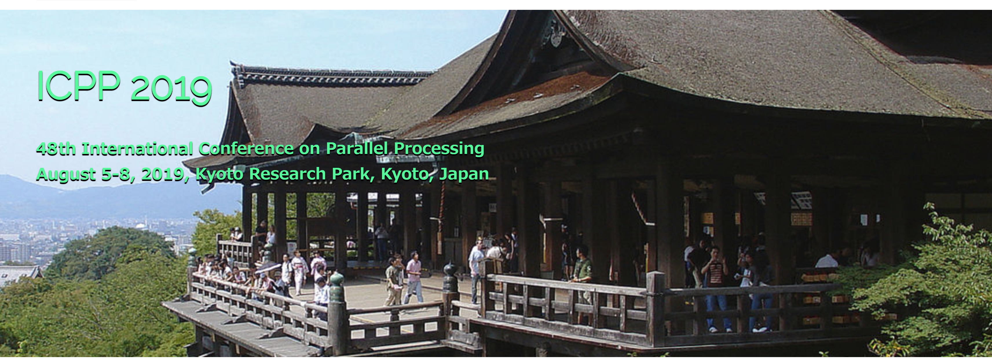 イベント出展:ICPP (International Conference on Parallel Processing)