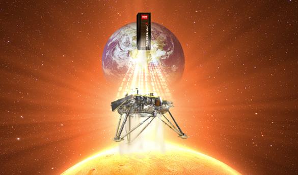 DDN、火星探査機「インサイト」のミッションを支援