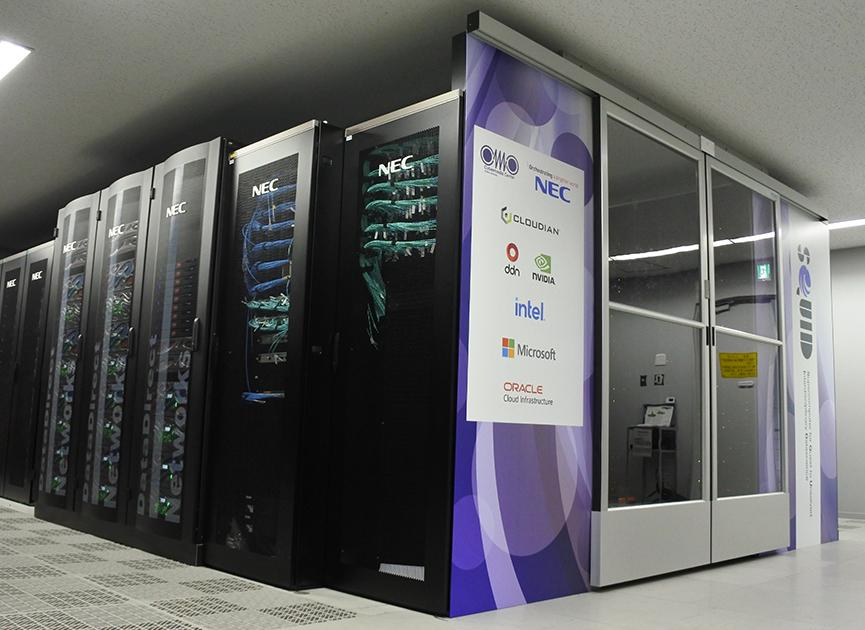 大阪大学スーパーコンピュータSQUID そのニューフェイスを初公開