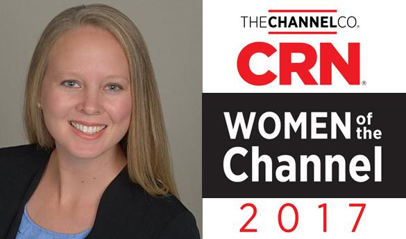 DDNのイヴォンヌ・ウォーカーがCRNの2017年度「Women of the Channel」へのノミネートを拝受